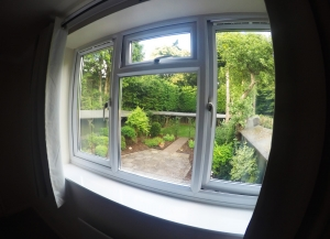 There is a lovely view from Bedroom 4 over rear garden